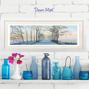 Winter Sunrise- Art Print in Frame