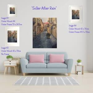 Soller after rain frame