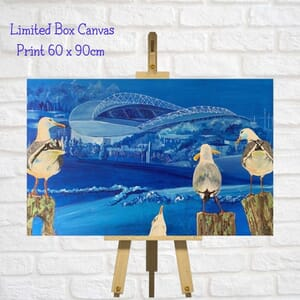 Seagull Art Limited Canvas Print  -