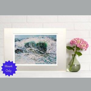 Sea Painting - Art Print in Mount -