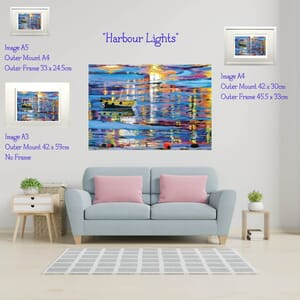 Reflections - Art Print in Mount -