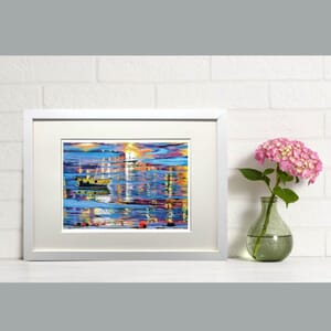 Reflections - Art Print in Frame -
