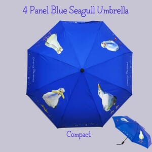 4 panel blue compact