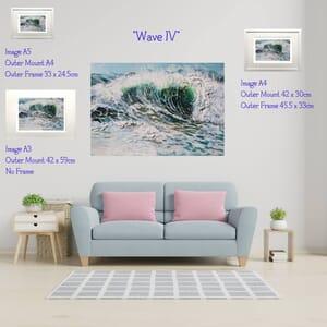 Sea Painting - Art Print in Frame -