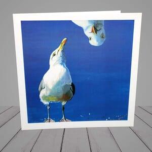 Greeting Card - Seagull - Coastal -