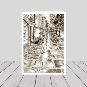 Causeway Pen and Ink card
