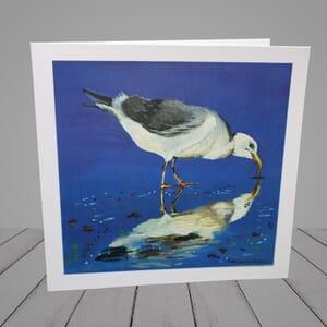 Greeting Card - Seagull-coastal art-