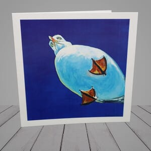 Greeting Card -   Hungry Seagull -